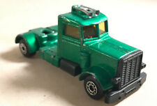 Matchbox Lesney Superfast Long Haul Truck and trailer 1979