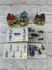 Liberty Falls Americana Collection House And Figurines Lot of 54 Pieces Pewter