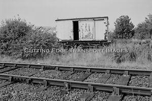 35mm Railway Negative: Derelict Van, Falmouth Docks 23/09/1994         30/332a20