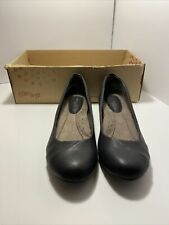 Euro Soft by Sofft Black Sky Slip On Women's Shoes Size 6.5