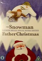 The Snowman / Father Christmas (DVD, 2008) Like New