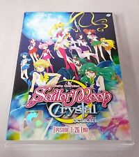SAILOR MOON CRYSTAL The Complete ENG Anime TV Series Ep.1 - 26 End DVD Box Set