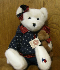"Boyds Plush #912016 STARR B BEARYPROUD, 16"" NEW/Tag From Retail Store, AMERICANA"
