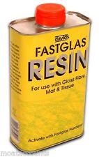 David's Fastglas Resin Fibre Glass Fast Glass [RELA] Fibreglass 500ml