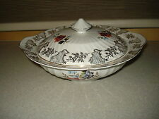 Victoria British Anchor Staffordshire England Serving Bowl