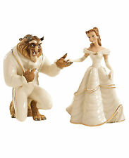 Lenox Disney Beauty Belle and The Beast Figurines My Hand My Heart Is Yours NEW