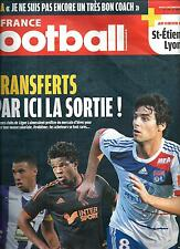 FRANCE FOOTBALL N°3479 11 DECEMBRE 2012  TRANSFERTS: GOURCUFF, REMY, CAPOUE