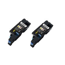 2 Yellow Compatible Toner Cartridge For DELL C1660 C1660W C1660CN C1660CNW