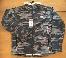 CAT Logo Caterpillar Reflective Camo Jacket - Medium