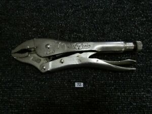 "Irwin Vise-Grip Model 10WR 10"" Curved Jaw Vise Grip Locking Pliers Welding Tool"