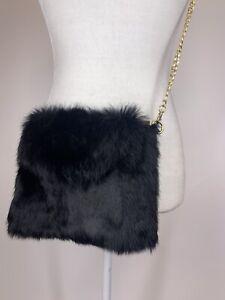 New 100% Handmade Fur Crossbody Pouch/ Bag (B)