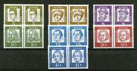 Bund Nr. 347 x - 355 x postfrisch waagerechte Paare BRD Bedeutende Deutsche 1961