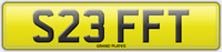 S23 FFT NUMBER PLATE STEFF T REGISTRATION STEFFI REG STEF ASSIGNED FREE STEPH