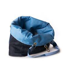 Borsa Borbonese - Jeans Azzurro Blue - Double Face - Nuova