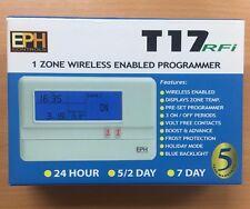 EPH T17-RFI SINGLE CHANNEL PROGRAMMER, WIRELESS ENABLED