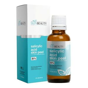 SALICYLIC ACID Skin Cosmetic Peel -Acne Wrinkles Dull Clogged Pores Wart Remover