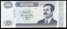 Central Bank of Iraq One Hundred Dinars Saddam Hussein