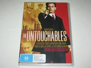 The Untouchables - Kevin Costner - Brand New & Sealed - Region 4 - DVD