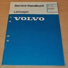 Volvo Räder Reifen und Naben LKW Lastwagen Truck Werkstatthandbuch