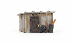 Woodland Scenics BR5056 HO Built-&-Ready Tin Shack Building