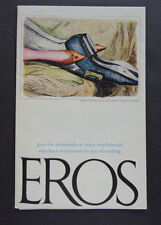 EROS original subscriber intro ltr for Ginsburg's publication debut '62 INV2499