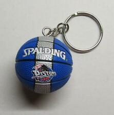 NBA Basketball Detroit PISTONS Ball KEY CHAIN Ring Keychain NEW