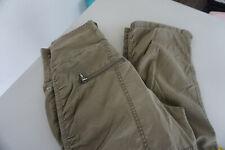 edc by ESPRIT Damen Jeans regular cargo sommer Hose 26/32 W26 L32 army khaki #18