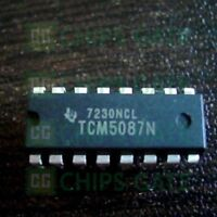 3PCS TCM5087N Encapsulation:DIP-16,TONE ENCODER
