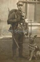 WW1 World War one Great War Photo Picture German 1914 medic with dog 3958