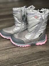 D.D. Step girls' insulated Waterproof winter boots, size UK1   EU33