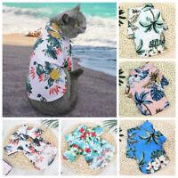 Pet Puppy Shirt Small Dog Cat Vest T Shirt Summer Beach Style Pet Clothes Hot