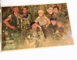 Bernard Fuchs MASH Cast Limited Edition Signed Lithograph Goodbye Farewell Amen
