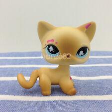 LPS 816#Littlest Pet Shop Standing Cat Splatter Paint Messiest Short Hair Kitty