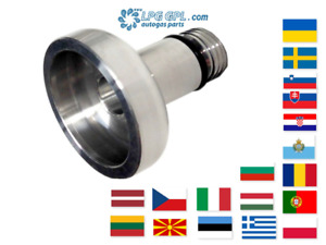 UK LPG Bayonet Filler W21.8 To Europe Dish Autogas Adaptor