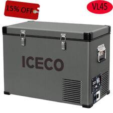 ICECO Jp50 Portable Refrigerator Freezer Fridge 12v Cooler 50 Liters Compact ...