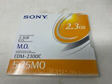 More details for lot of 4 sony edm-2300c 2.3gb 512 b/s magneto optical disk (offers welcome)