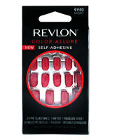 REVLON COLOR ALLURE FALSE NAIL SELF ADHESIVE SHORT NAILS PASSION COLOUR 91193