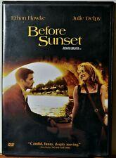 Dvd Before Sunset Ethan Hawke Julie Delpy Sequel Romance Extra Movies Ship Free