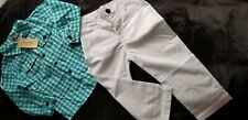 New! Boys Rorychen Baby & Kids 100% Cotton 2 piece Outfit Set Size 6