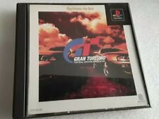 GRAN TURISMO THE REAL DRIVING SIMULATOR PS1 IMPORT NTSC JAP GIAPPONESE+SPIN CARD