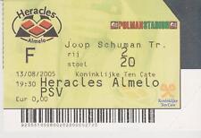 Sammler Used Ticket / Entrada Heracles Almelo v PSV Eindhoven 13-08-2005