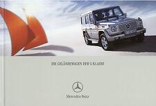 Mercedes G-Klasse Prospekt 6 05 brochure G 270 CDI 400 500 55 AMG Auto PKWs 2005