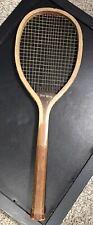 Wright & Ditson Championship The Hub Antique Tennis Racquet Oval Head