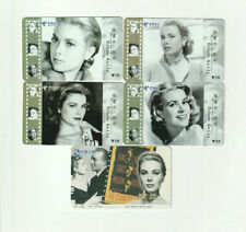 (5) Grace Kelly Rare Phone Cards