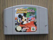 JEU NINTENDO 64 N64 MICKEY'S SPEEDWAY USA