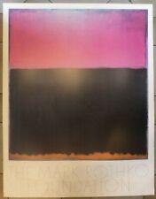 Affiche Mark Rothko d'après une huile sur toile par la fondation Mark Rothko
