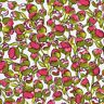 LIBERTY OF LONDON Eliza's PINK Floral XL FQ Fabric TANA LAWN Buds CLASSIC Green