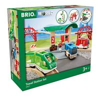 BRIO World 33512 Travel Switching Set/42 Piece Train Toy with Accessories FRSHIP