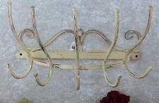 Wandgarderobe Eisen Metall Handtuchhalter Antik Regal Garderobe Wandhaken Shabby