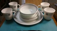 15 Pieces Corning USA Corelle Lineage Dinnerware Dishes Discontinued Pattern